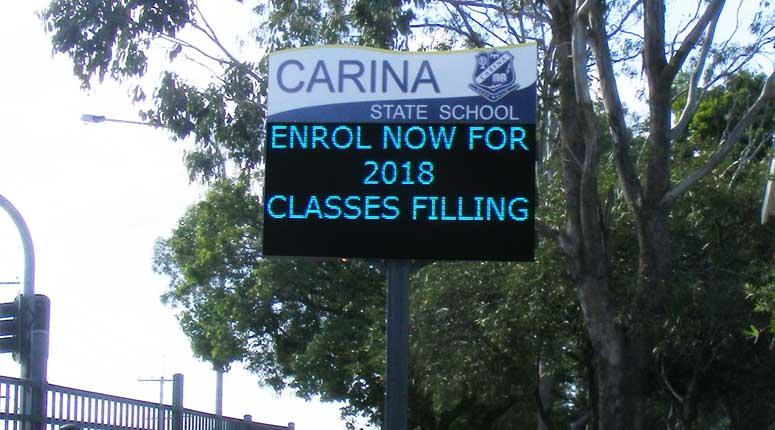 School & Church LED Signs