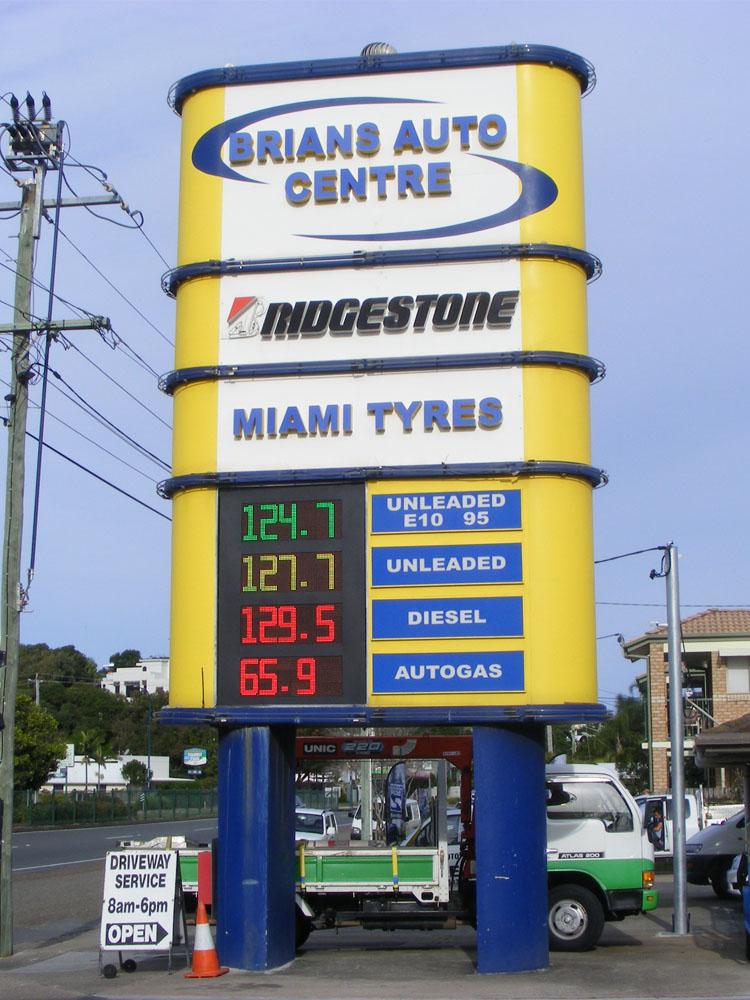 LED Petrol Price signs